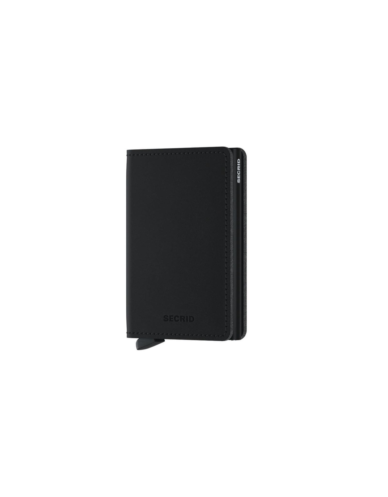 Secrid Slimwallet Vegan Soft Touch Black