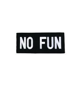 No Fun Classic Patch, Black
