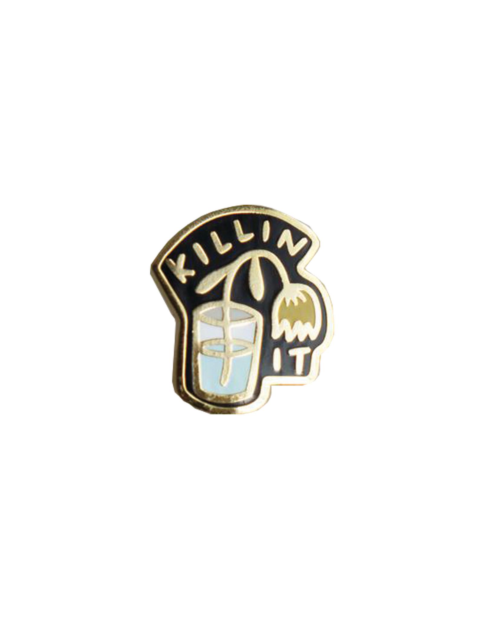 Stay Home Club Killin It Pin