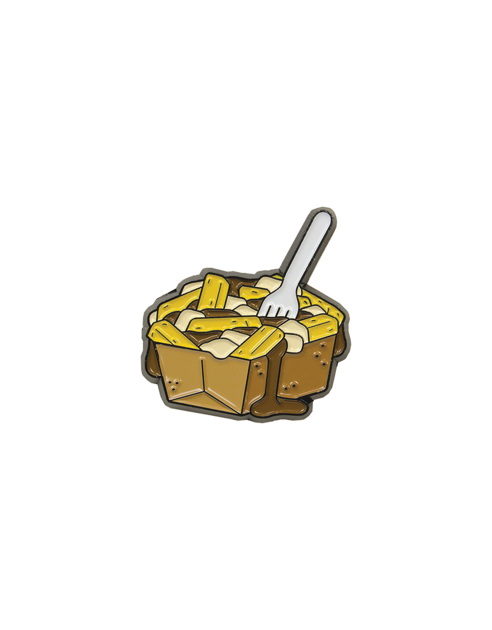 Happy Worker For the Love of Canada Pin, Poutine