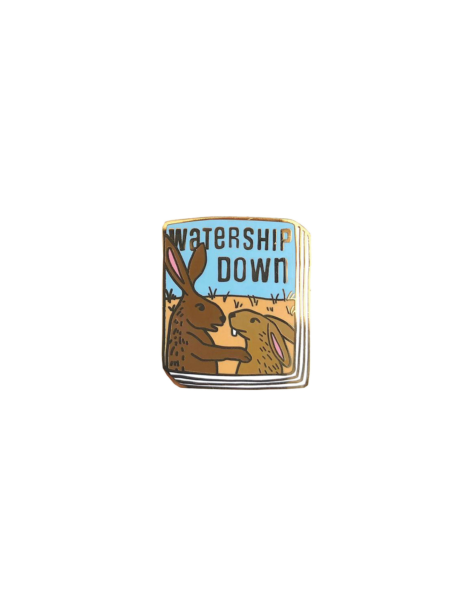 Ideal Bookshelf Book Pin: Watership Down