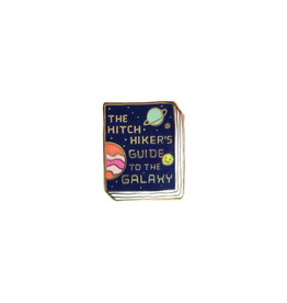 Ideal Bookshelf Book Pin: The Hitchhikers Guide to the Galaxy