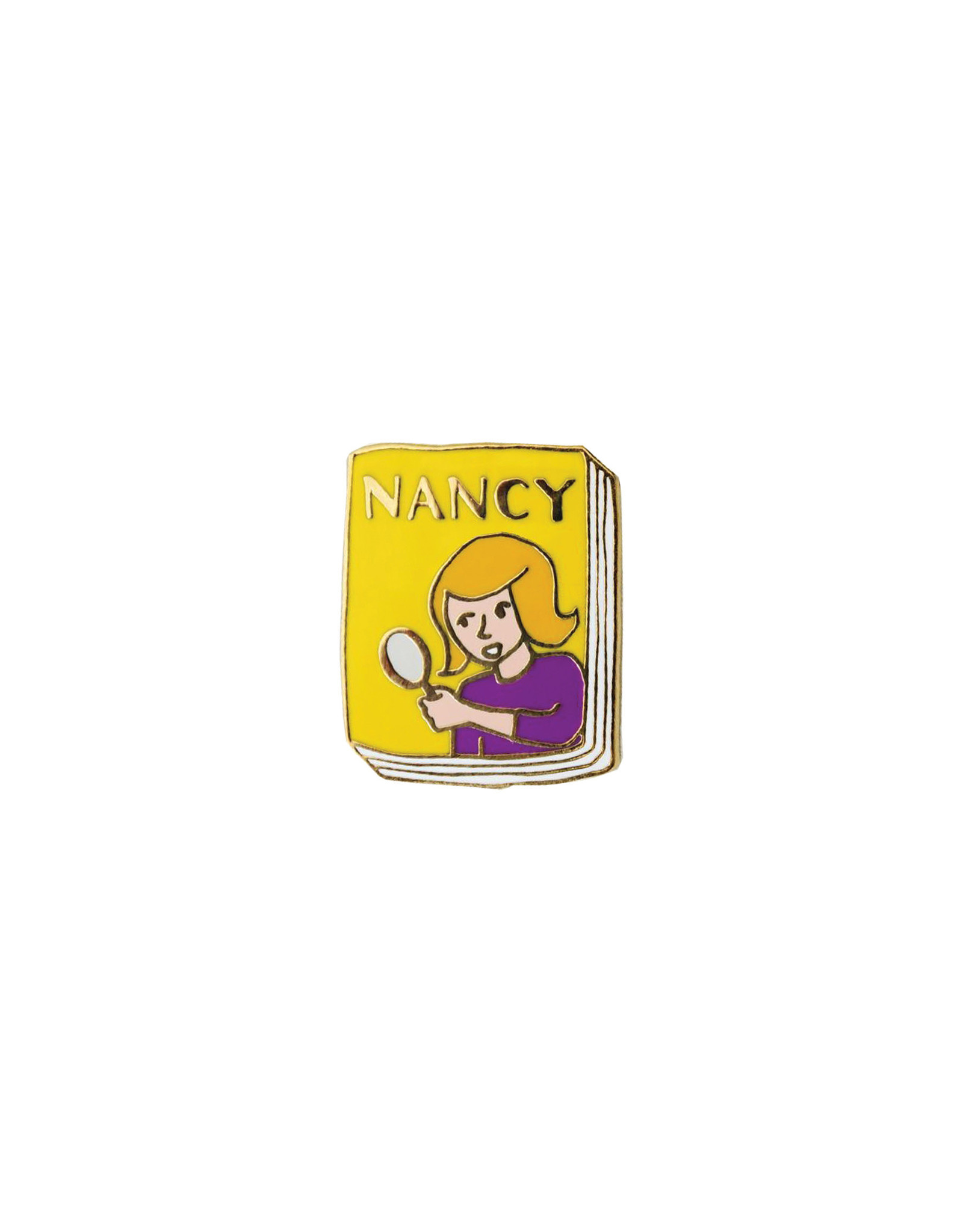Ideal Bookshelf Book Pin: Nancy Drew