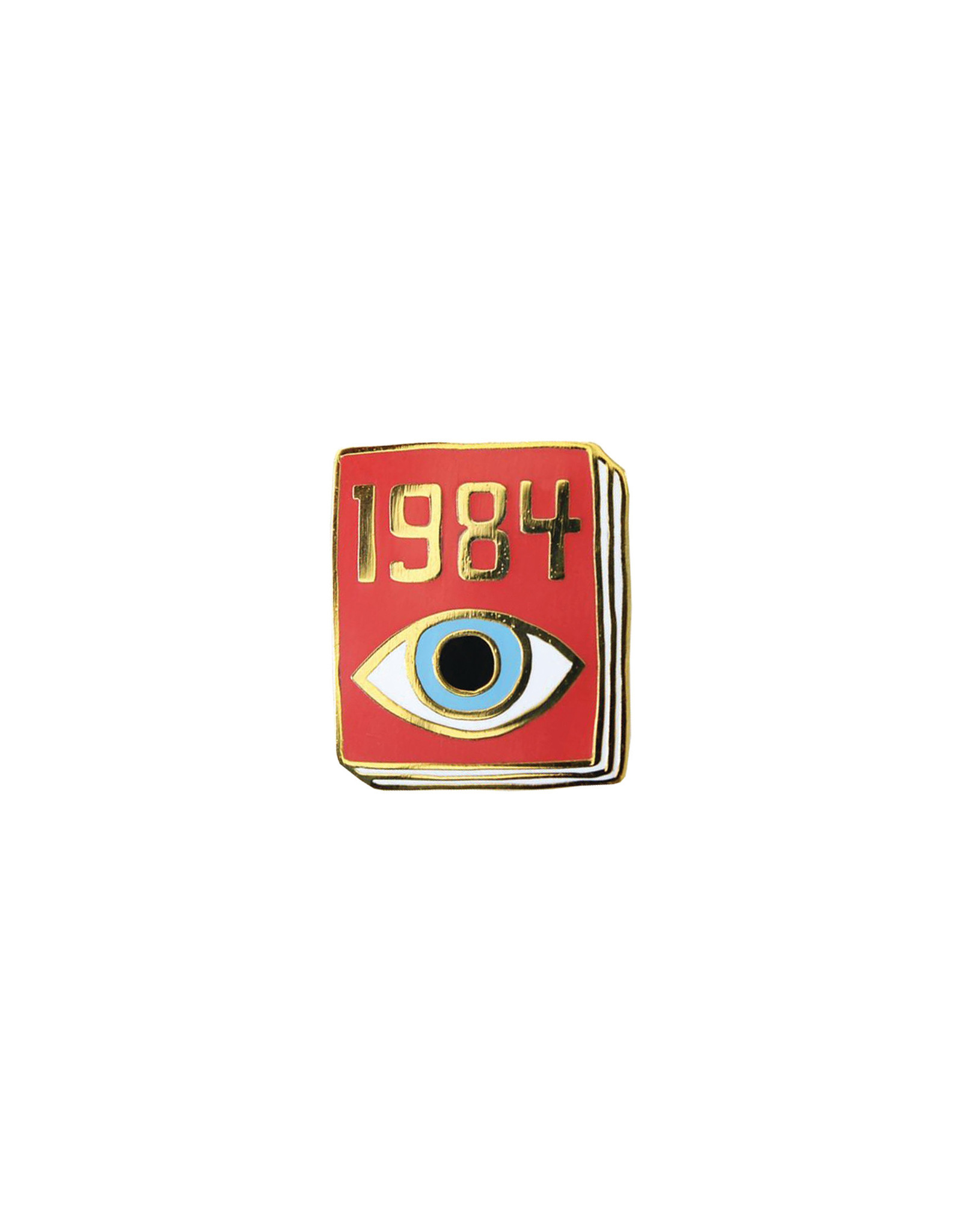 Ideal Bookshelf Book Pin: 1984