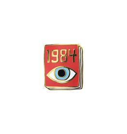 Ideal Bookshelf Book Pin: 1984