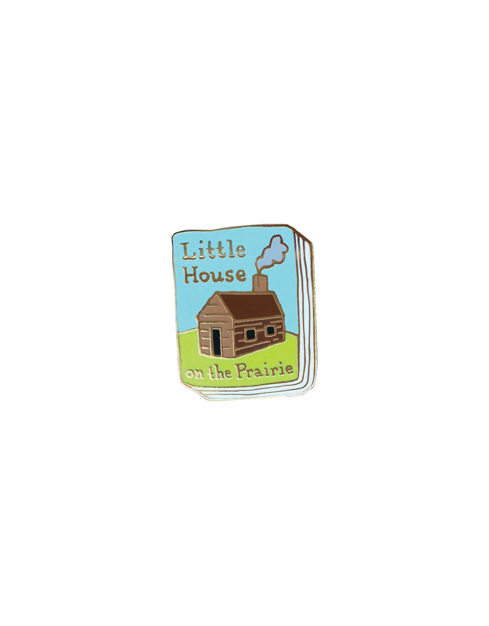 Ideal Bookshelf Book Pin: Little House on the Prairie