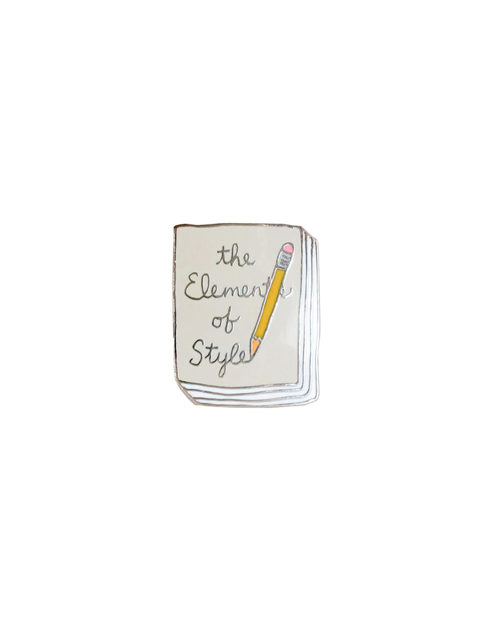 Ideal Bookshelf Book Pin: The Elements of Style