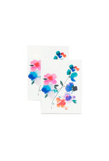 Tattly Blue Orchid, Set of 2