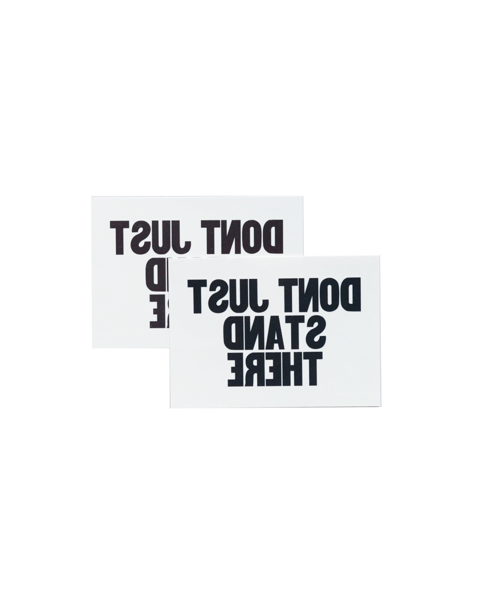 Tattly Don't Just Stand There, Set of 2