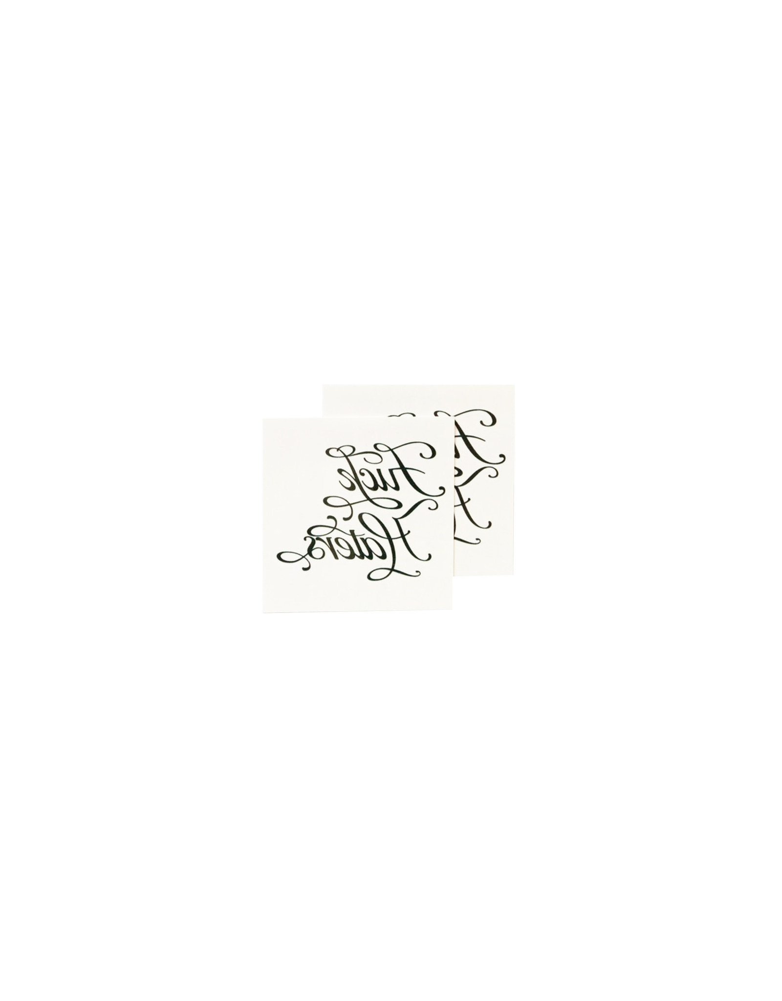 Tattly F Haters Set of 2