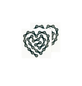 Tattly Heart Links Set of 2