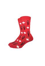 Good Luck Sock Canadian Mounties Socks, M-L