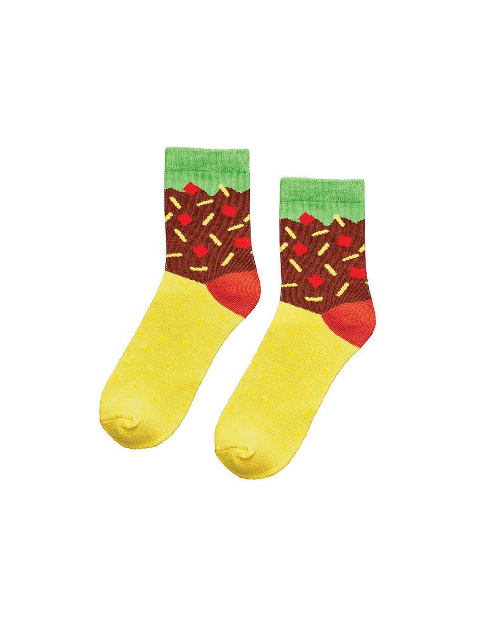 Yes Studio Organic Cotton Taco Socks
