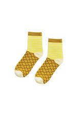 Yes Studio Organic Cotton Pineapple Socks