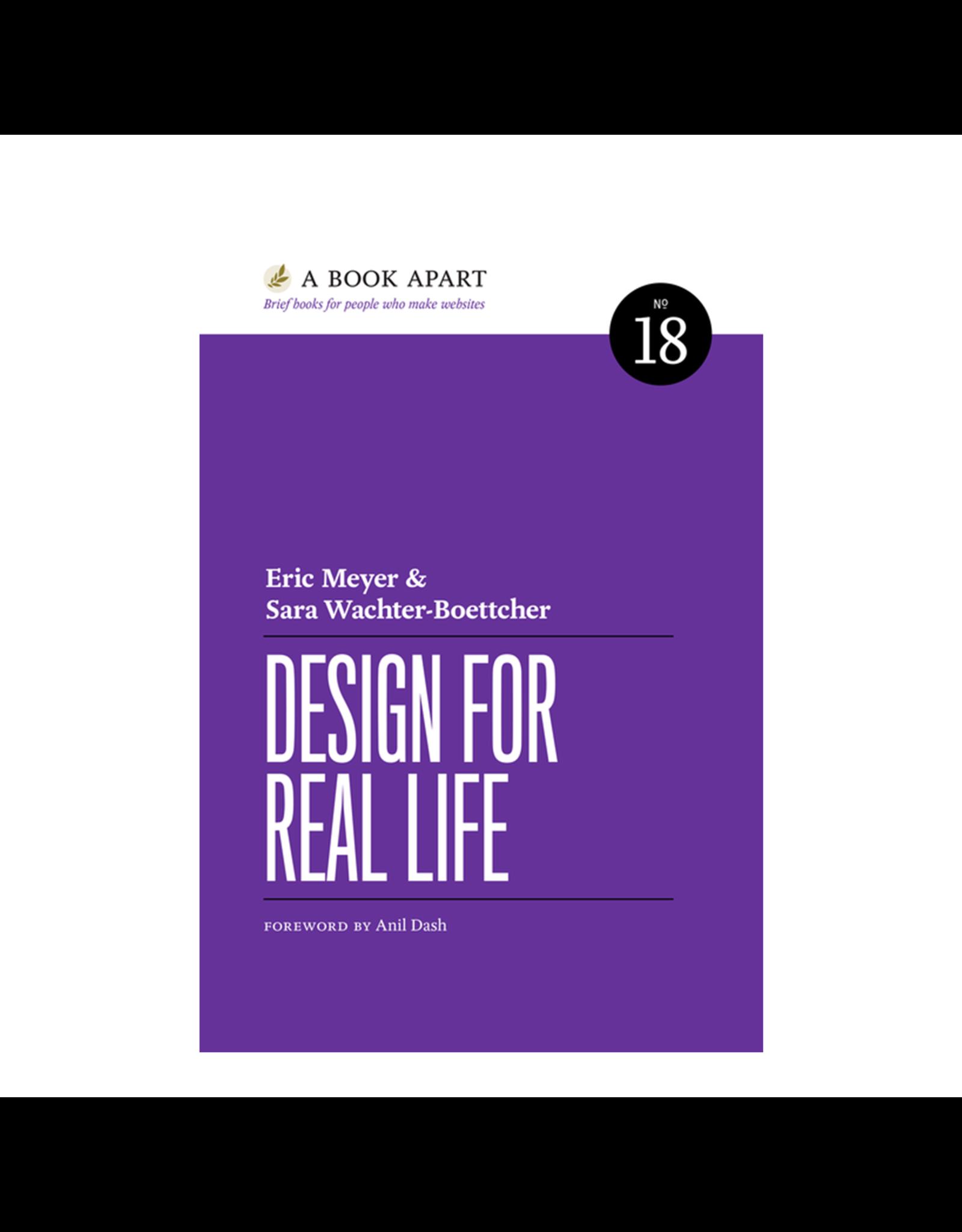 A Book Apart: Design for Real Life (No. 18)