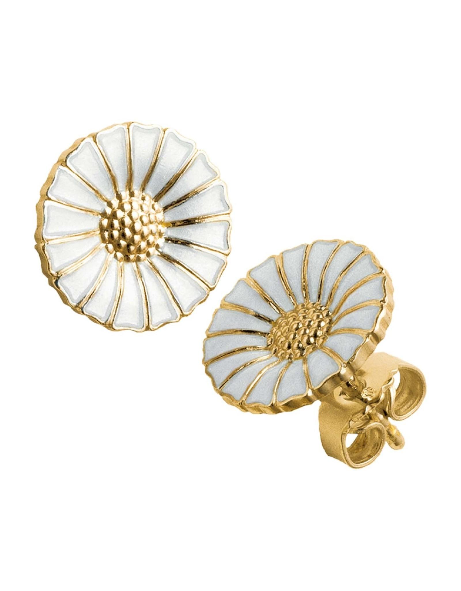 Georg Jensen Daisy Earrings, Gold, 11mm