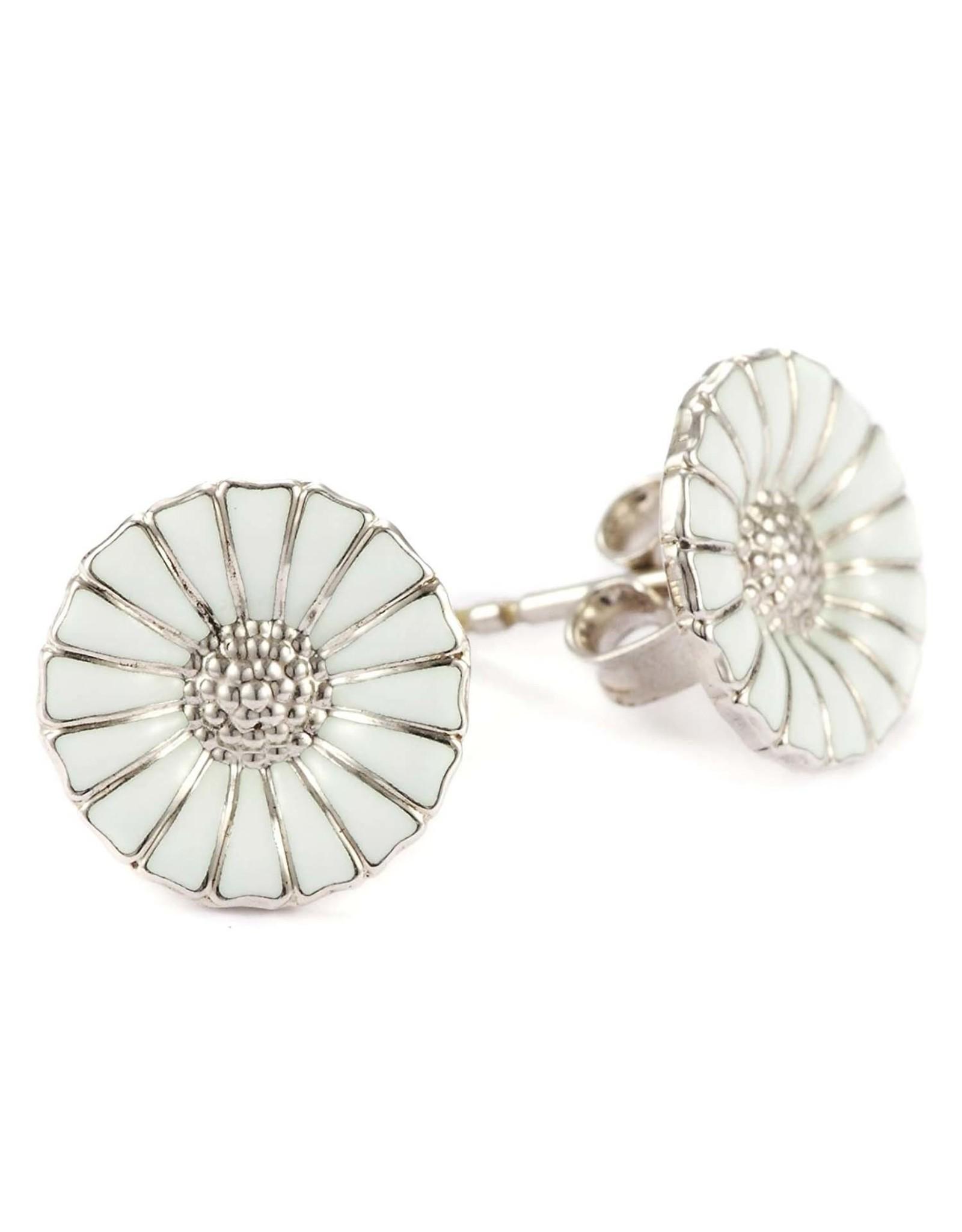 Georg Jensen Daisy Earrings, Silver 11mm
