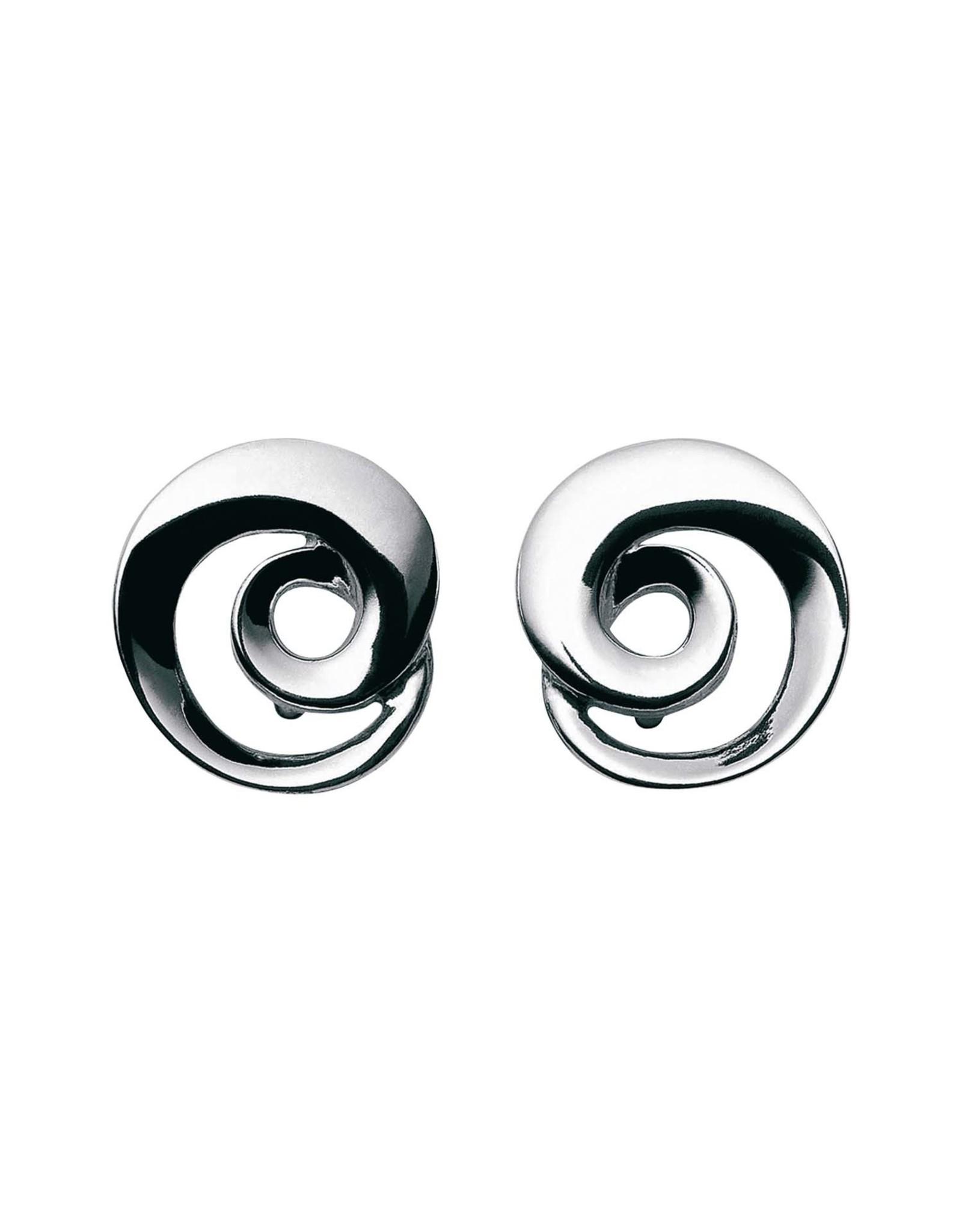 Georg Jensen Mobius Earrings, Silver