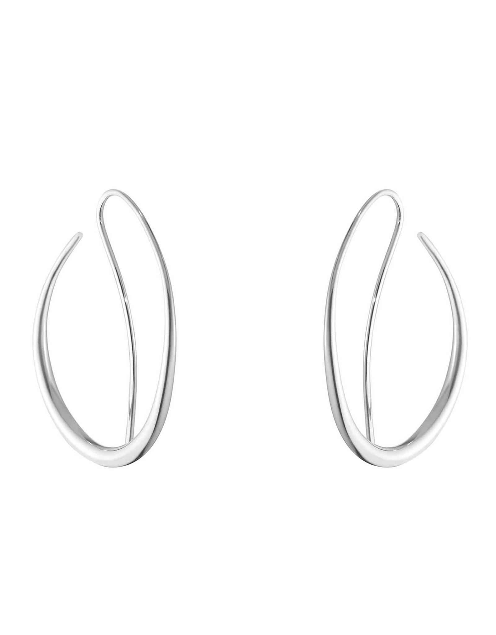 Georg Jensen Offspring Earring 433B, Silver