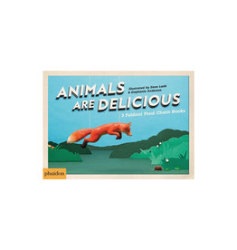 Animals Are Delicious: 3 Foldout Food Chain Books
