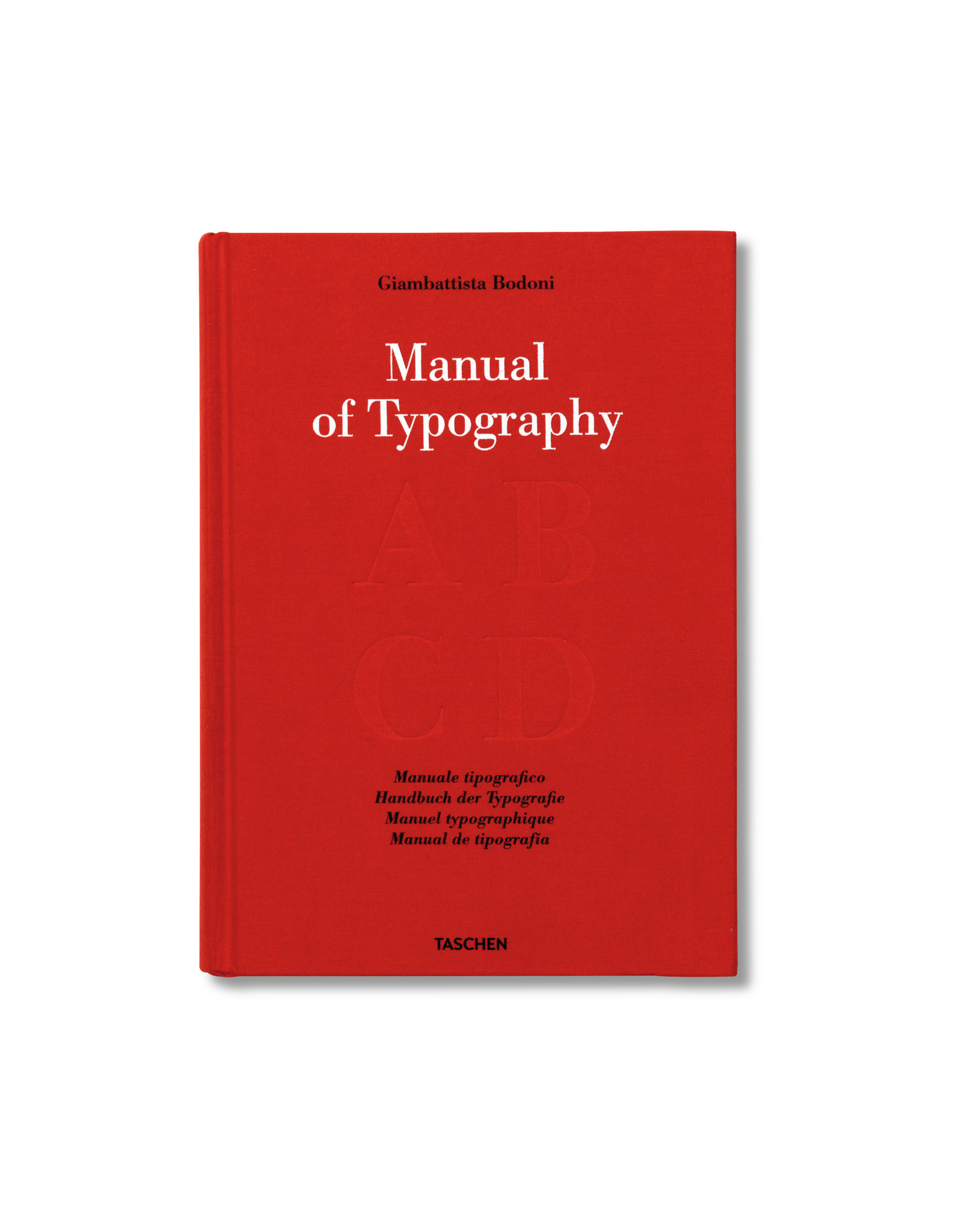 Bodoni, Manual of Typography: Manuale Tipigrafico (1818)