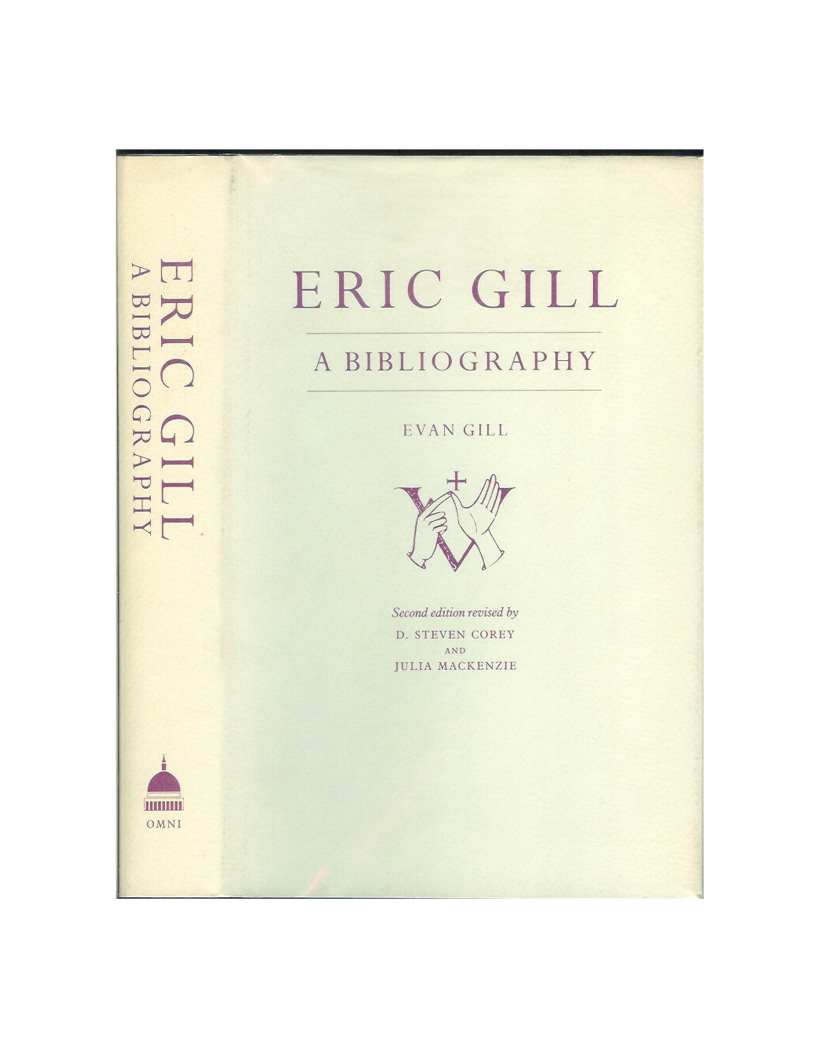 Eric Gill: A Bibliography