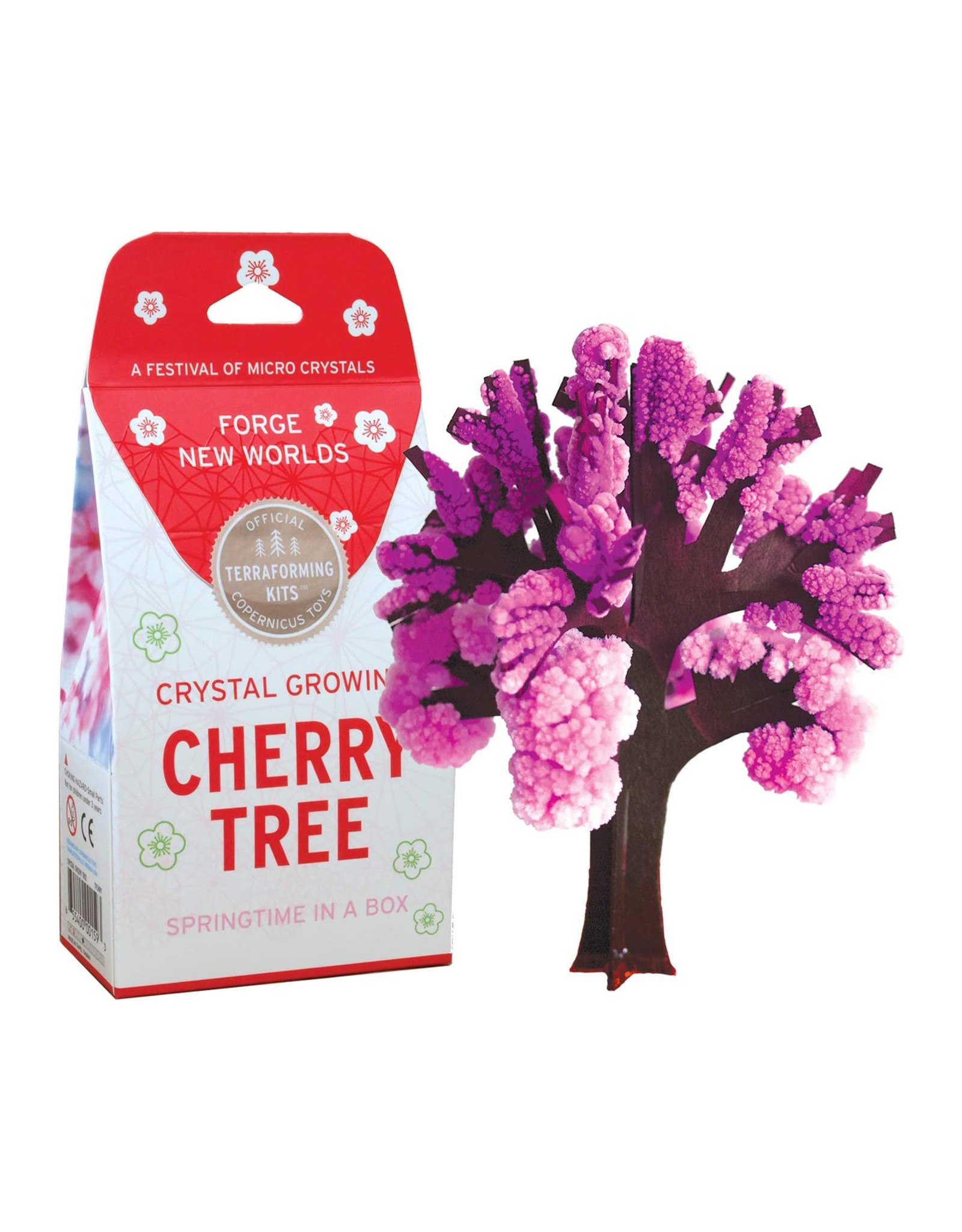 Crystal Growing: Cherry Tree