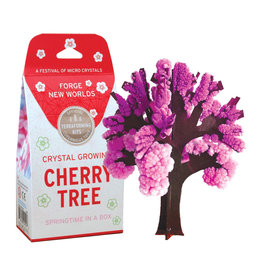 Crystal Growing: Cherry Tree