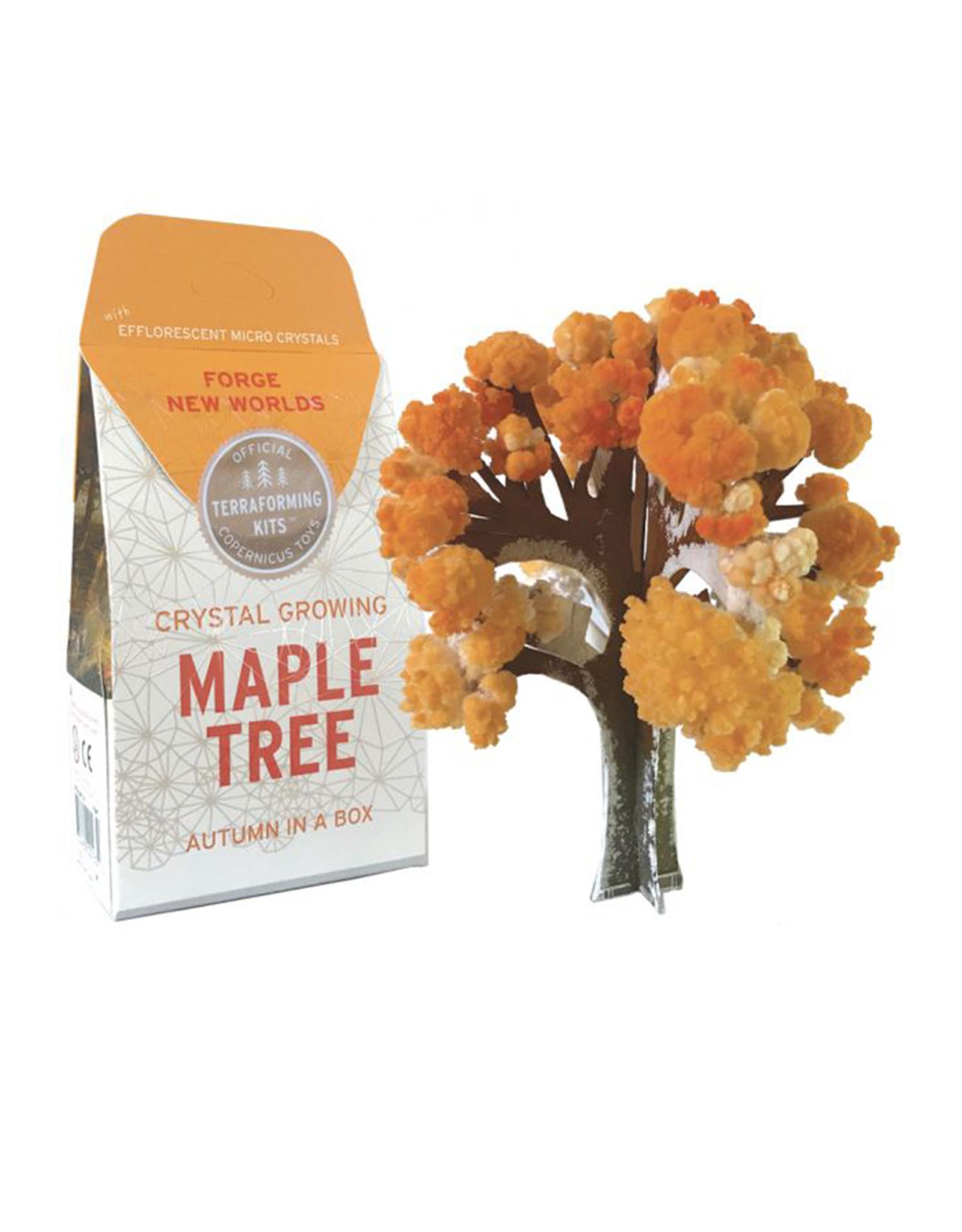 Crystal Growing: Maple Tree