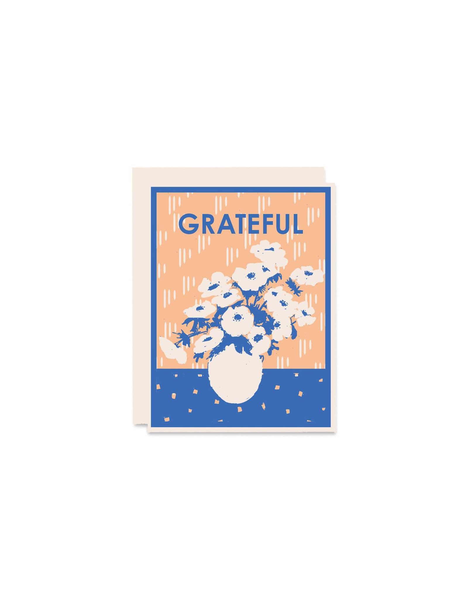 Heartell Press Grateful for Anemonies Card