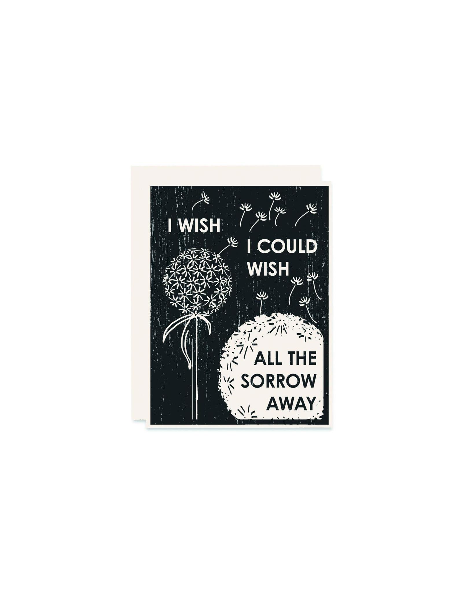 Heartell Press I Wish Sympathy Card