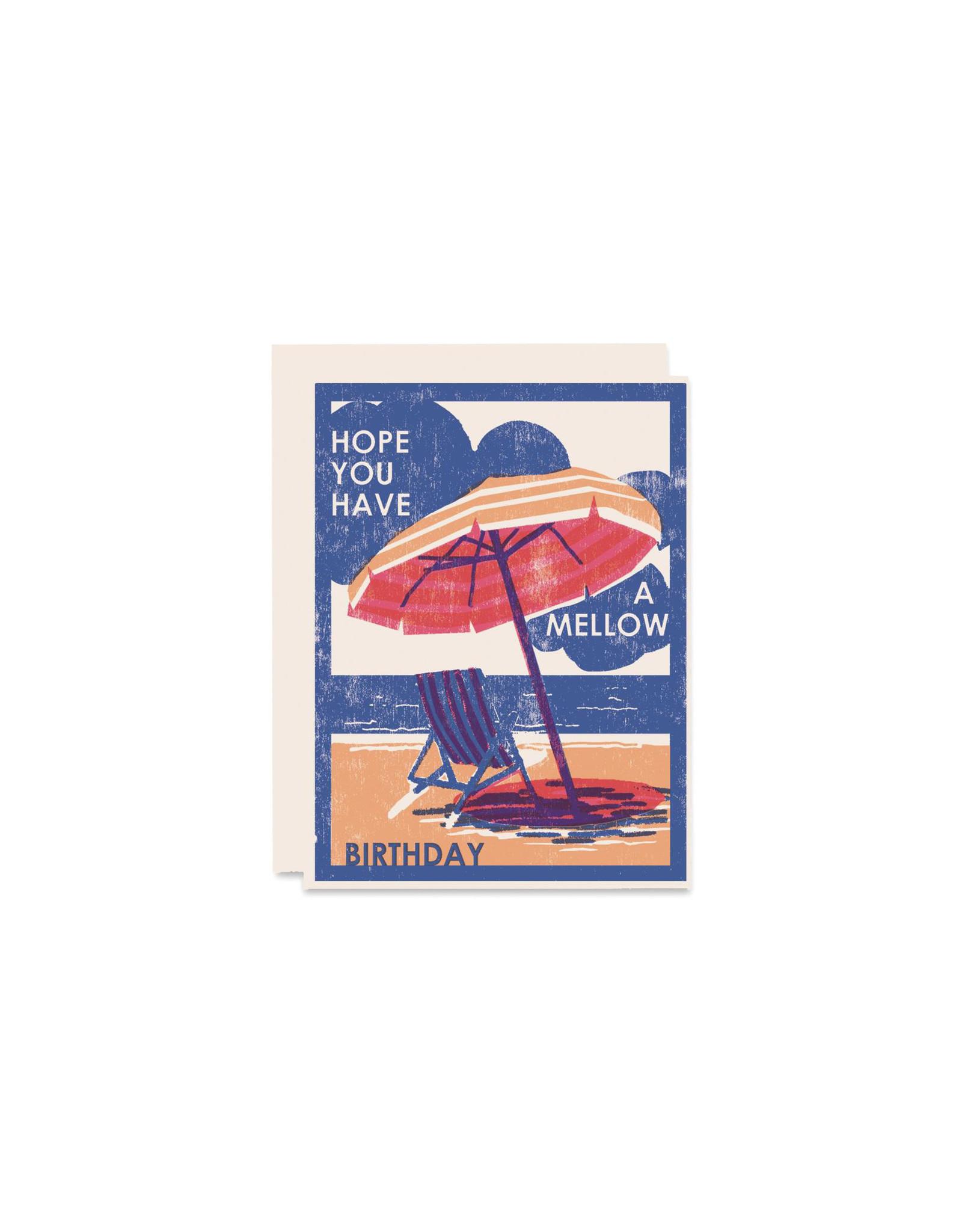 Heartell Press Mellow Birthday Card