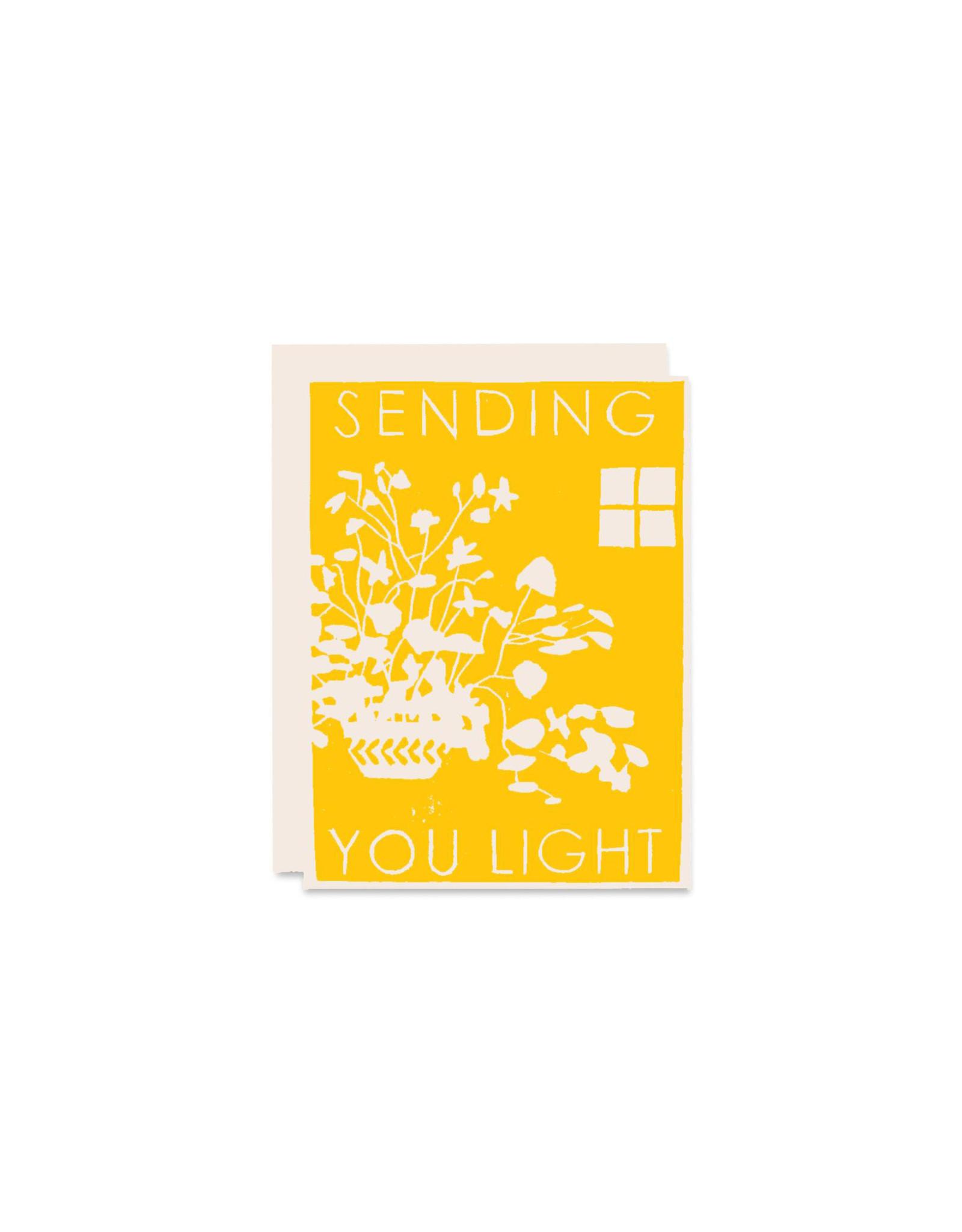 Heartell Press Sending Light Friendship Card