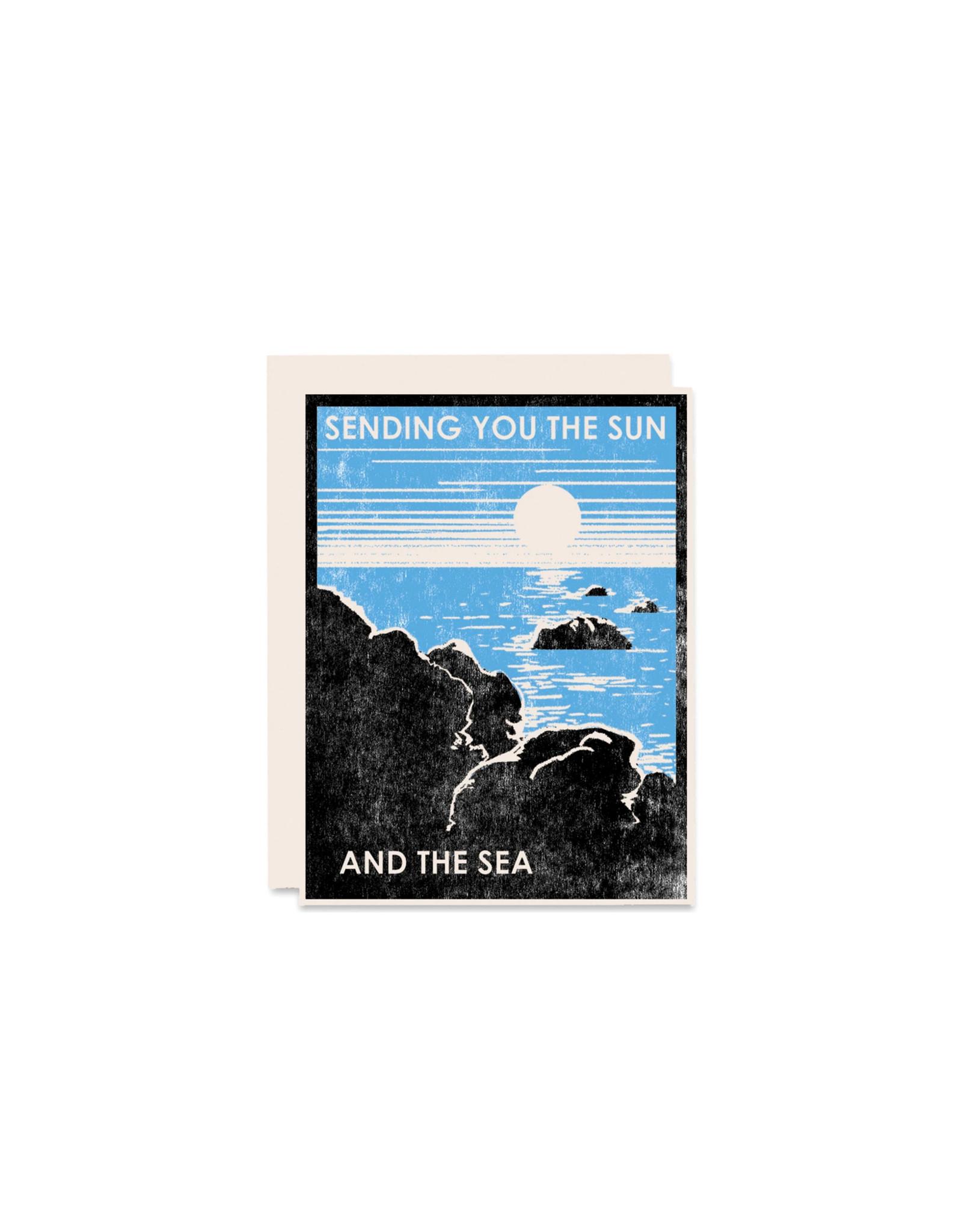 Heartell Press Sending Sun and Sea Card
