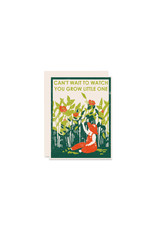Heartell Press Watch You Grow New Baby Card