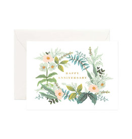 Rifle Paper Co. Anniversary Bouquet Card