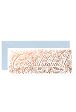 Rifle Paper Co. Congrats Card, Champagne Floral