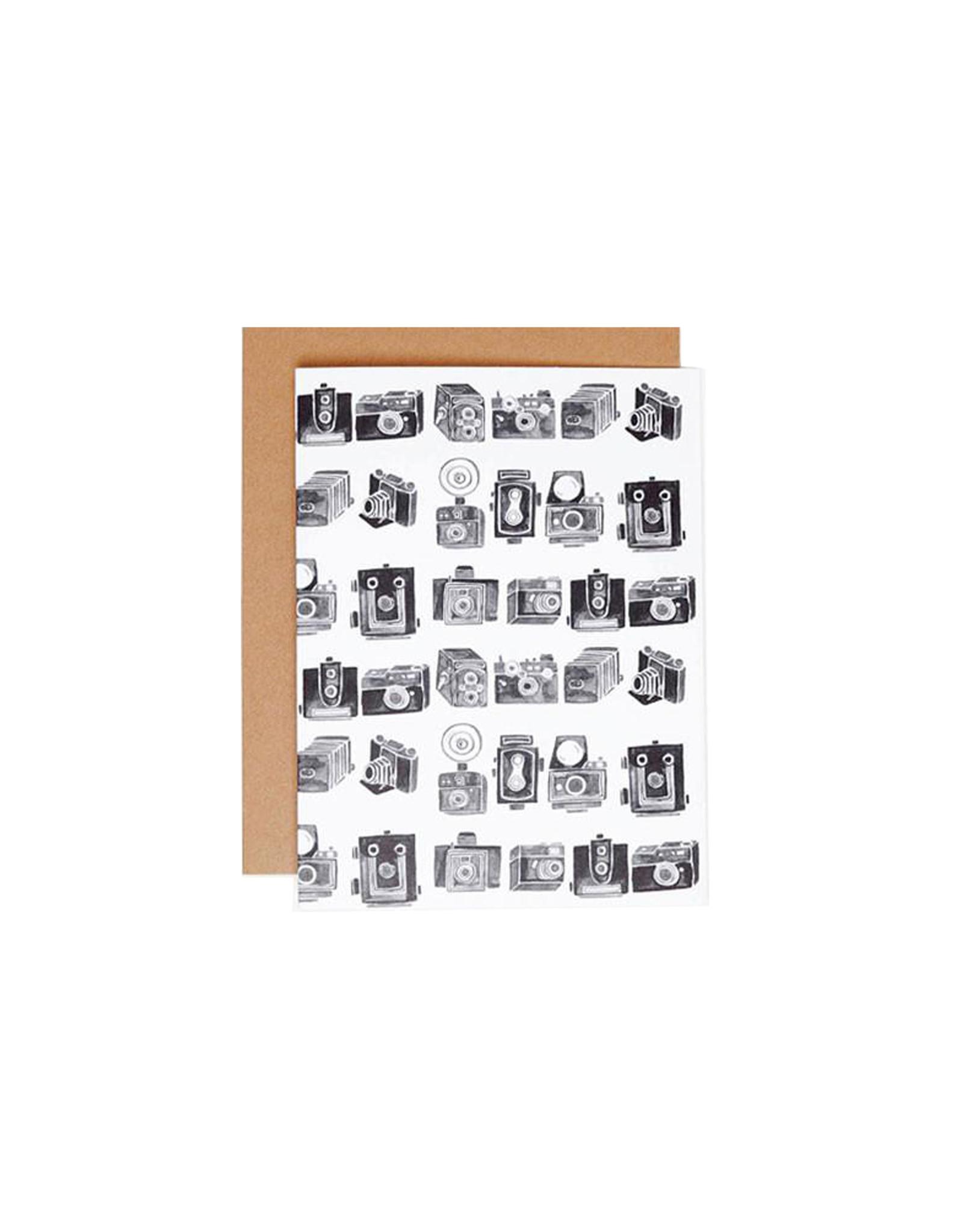 Poketo Vintage Camera Card