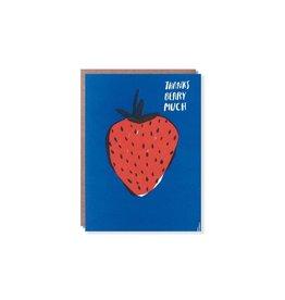 Egg Press Berry Thanks Card