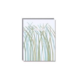 Egg Press With Sympathy Grass Card