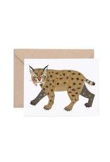 Lisa Vanin Notecard, Bobcat