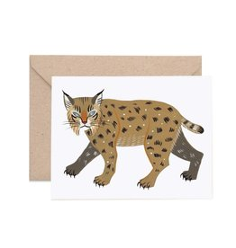 Lisa Vanin Notecard, Bobcat