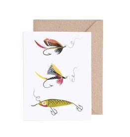 Lisa Vanin Notecard, Fishing Lures