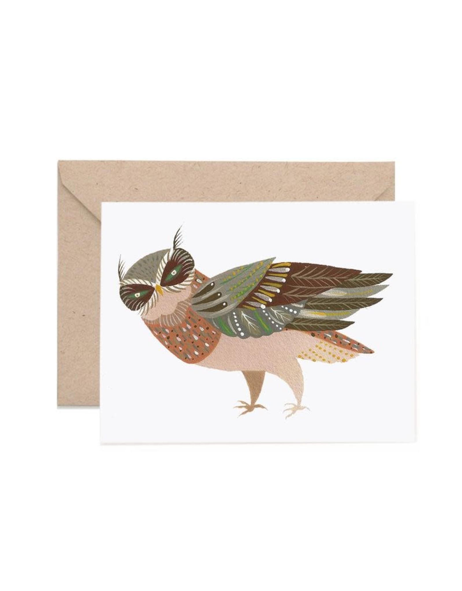 Lisa Vanin Notecard, Owl