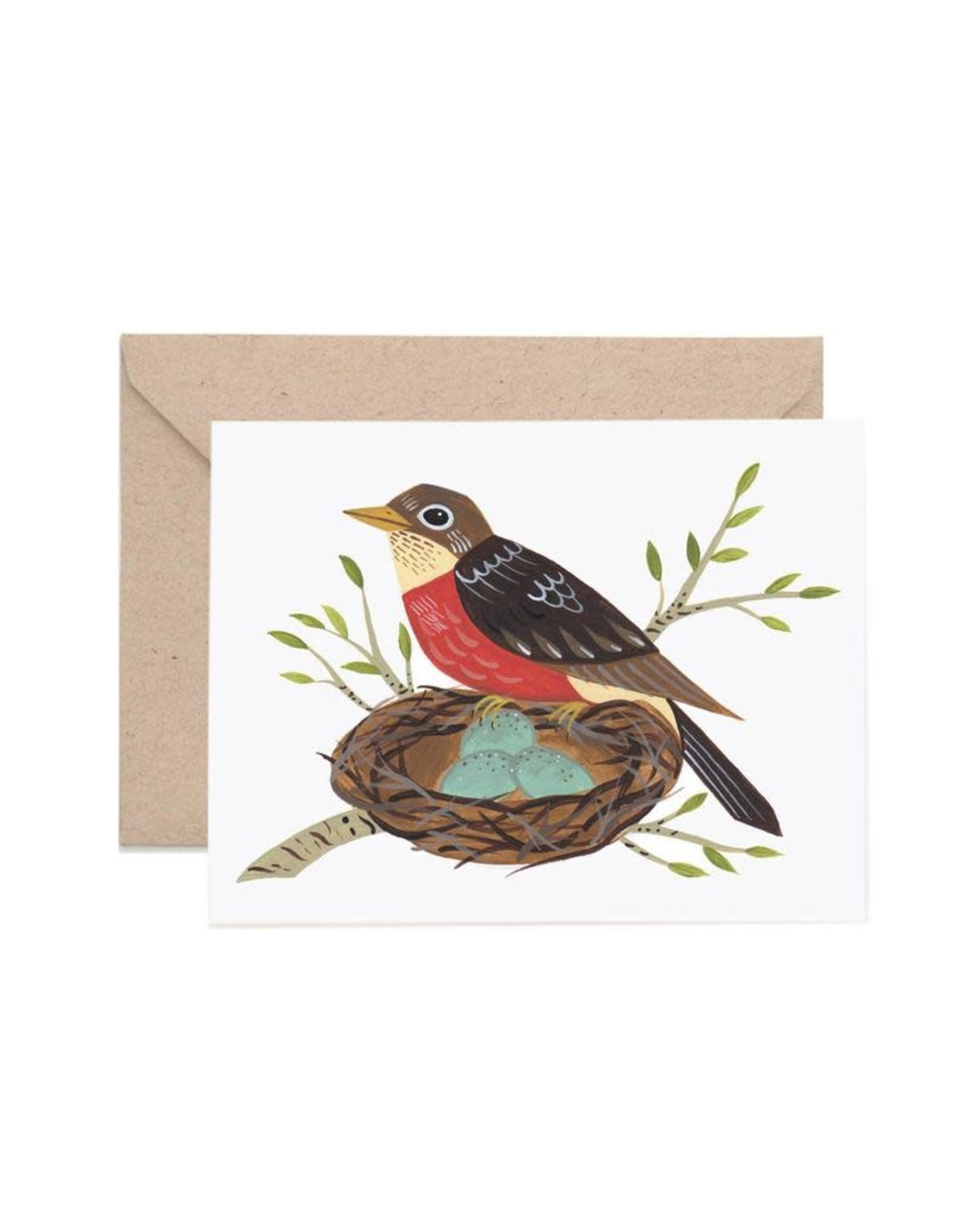 Lisa Vanin Notecard, Robin