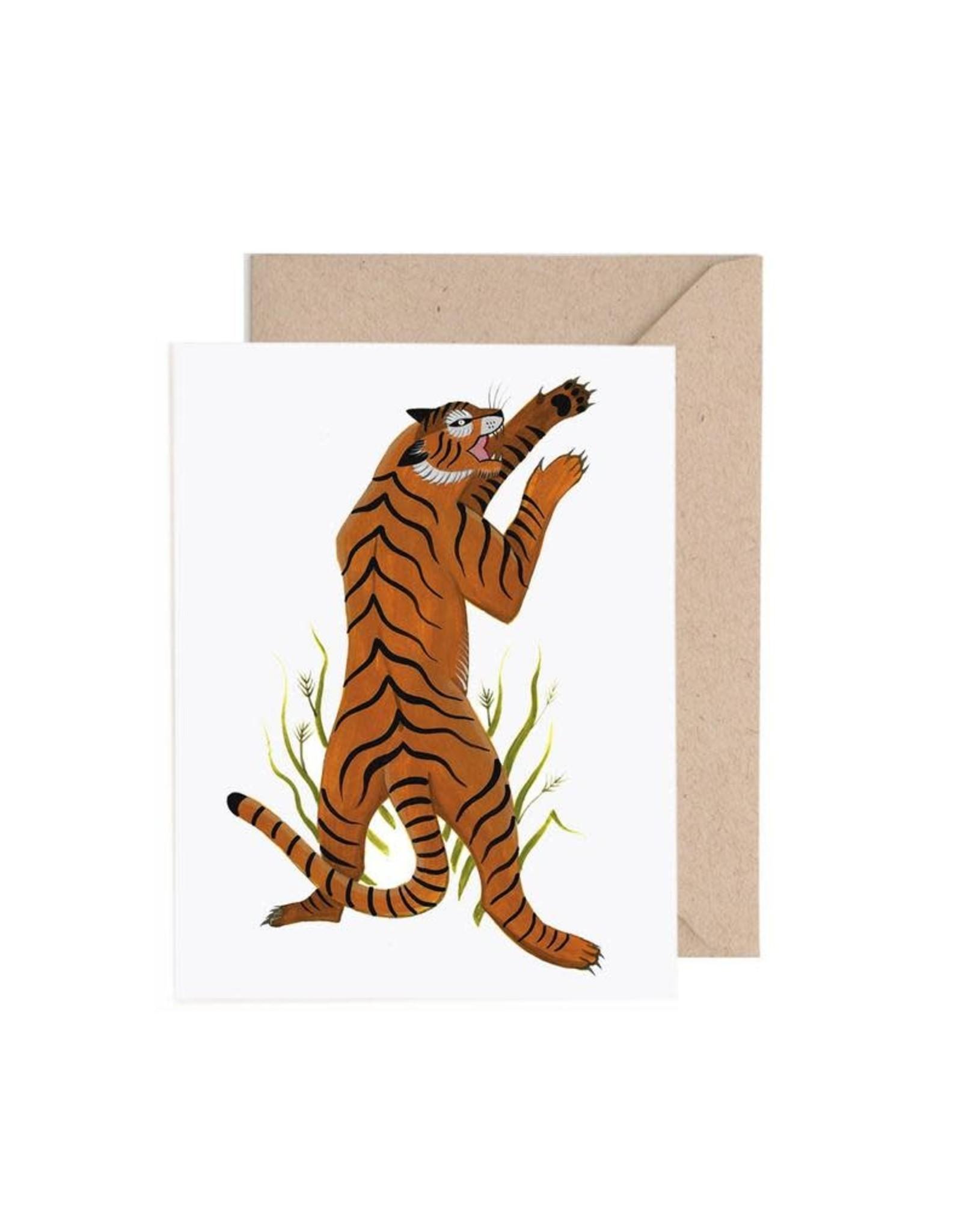 Lisa Vanin Notecard, Tiger