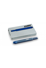 LAMY T10 Refill - Fountain Pen Ink Cartridges, Box of 5 (Blue)