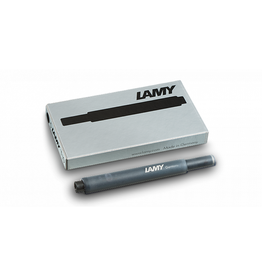 LAMY T10 Refill - Fountain Pen Ink Cartridges, Box of 5 (Black)