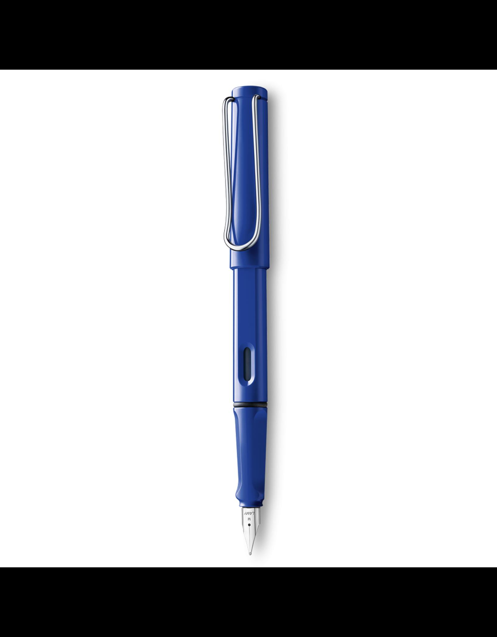 LAMY safari Fountain Pen, Blue, Medium Nib