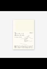 Midori MD Notebook A6, Blank